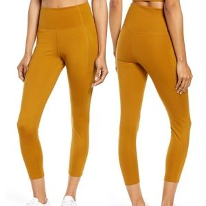 Girlfriend Collective Legging in Saddle